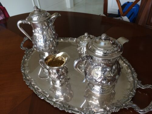 Silver Tea & Coffee Set