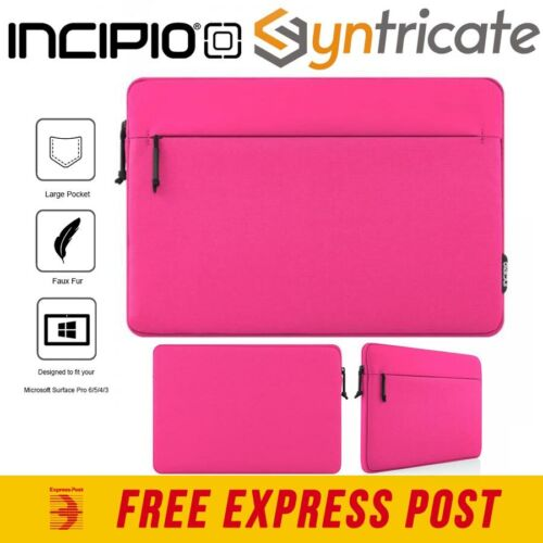 Incipio Truman Protective Padded Sleeve for Surface Pro 7/Pro 6/ Pro 5 - Pink