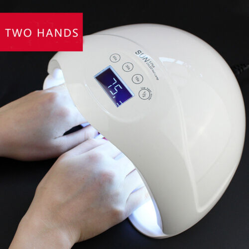 SUN 5 Plus 48W LCD display Dual UV LED Nail Lamp Nail Dryer with Bottom Timer