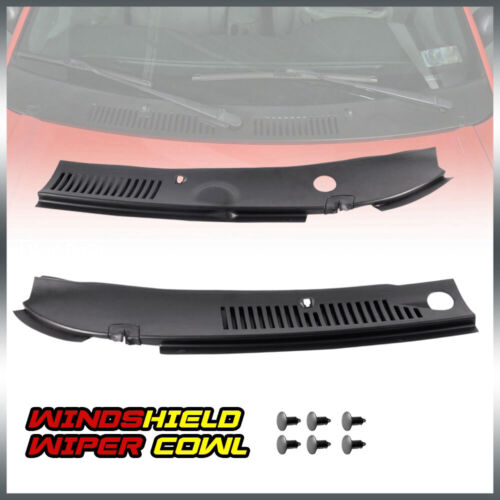 New Windshield Wiper Cowl Vent Grille Panel Hood For 99-04 Ford Mustang
