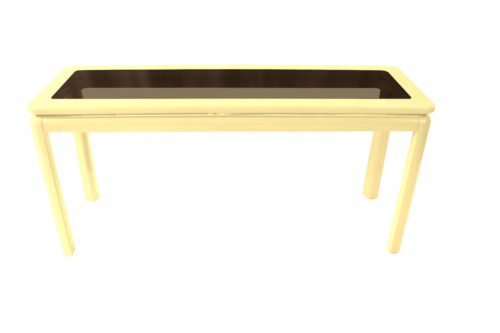 Mid Century Modern Lacquered Console Table Lane Furniture