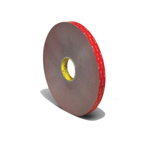 DOUBLE SIDED AUTOMOTIVE FOAM TAPE ROLL MOUNTING NUMBER PLATE UK STOC 10x1MMx2.5M