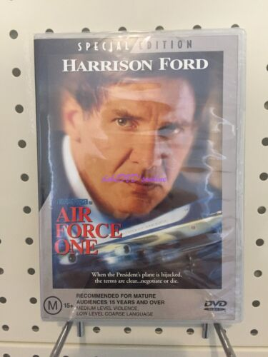~AIR FORCE ONE / SPECIAL EDITION / DVD / REGION 4 / AUS~