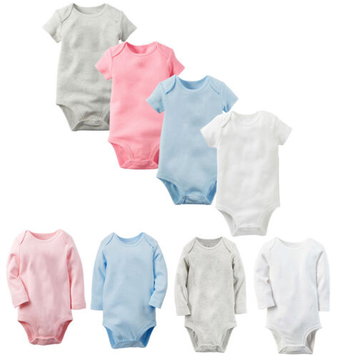 Newborn Infant Kids Baby Girl Boys Romper Bodysuit Jumpsuit Soft Clothes Outfits