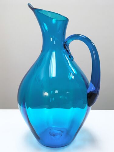 Blenko glass pitcher antiques us for Anderson art glass