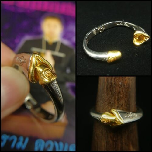Sz 10 Sane Karma Ring Ajarn Ram Magic Thai Amulet Spells Attract Charm Love Wicc