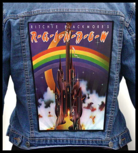 RITCHIE BLACKMORES - Rainbow  --- Giant Backpatch Back Patch