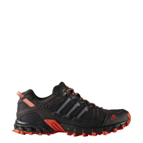 Men's Adidas Rockadia Trail Black Sport Athletic Running Shoes BY1790 Sizes 8-15