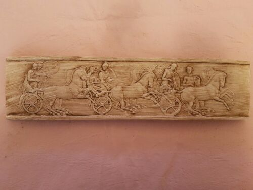 Miniature John Henning Charioteers plaster parthenon frieze Intaglio classical