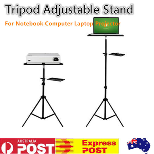 Adjustable Tripod Laptop Stand For Notebook Computer Projector +Tilt Tray AU