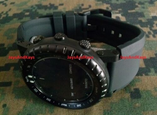 JaysAndKays® Bell & Ross Homage™ Strap Band Kit for Suunto Core Silicone Rubber