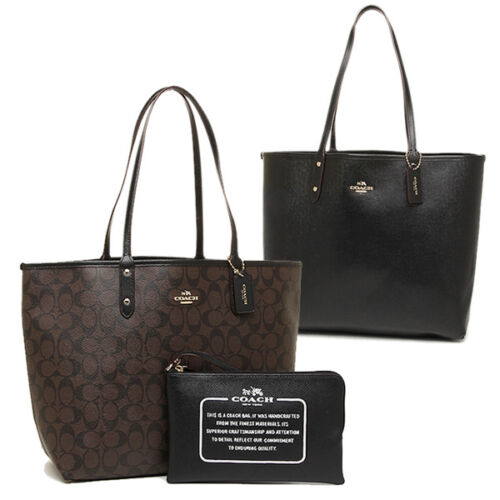 COACH F36658 SIGN REVERSIBLE CITY TOTE