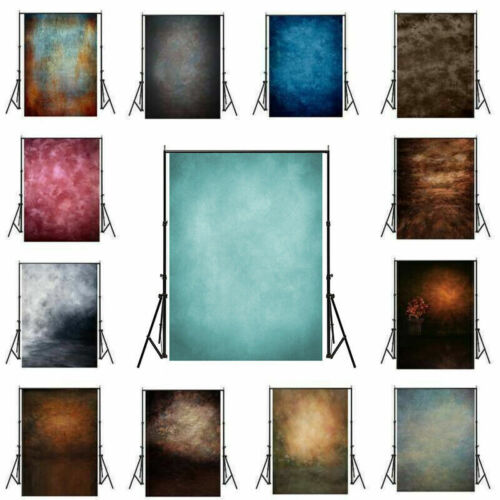 Photography 3x5ft/5x7ft Vintage Tie-Dye Backdrop Hand Painted Photos Background