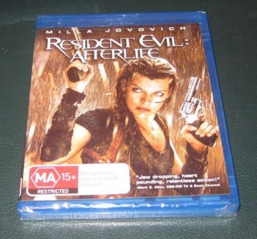 Resident Evil: Afterlife - Blu-Ray, 2011 - NEW - ede