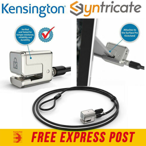 KENSINGTON KEYED CABLE LOCK FOR SURFACE GO/SURFACE PRO 7+/7/6/5/4