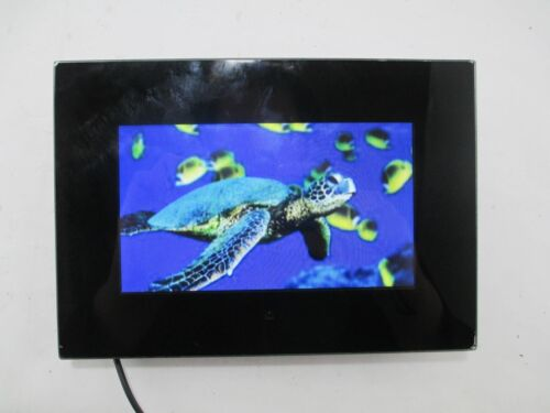 """OPTEKA OPT070YDPF 7"""" Digital Picture Photo Frame Slide Show w/ Audio"""