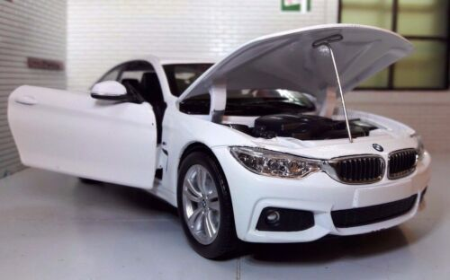 1:24 Echelle Blanc BMW M4 435i 4 Séries F32 71303 M Sport New Ray Model Voiture
