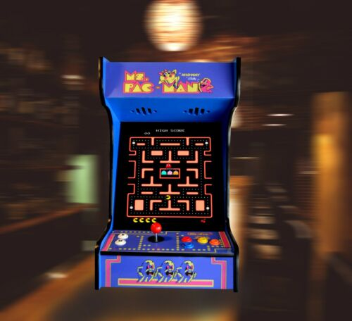 Top Holiday Gifts  Arcade Machine with 412 Classic Games  Ms Pacman  Mancave Sheshed