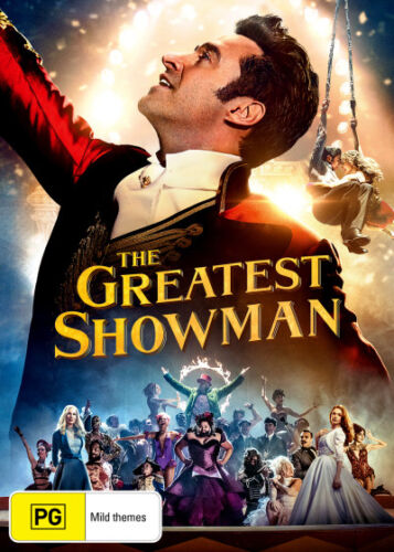 The Greatest Showman  - DVD - NEW Region 4