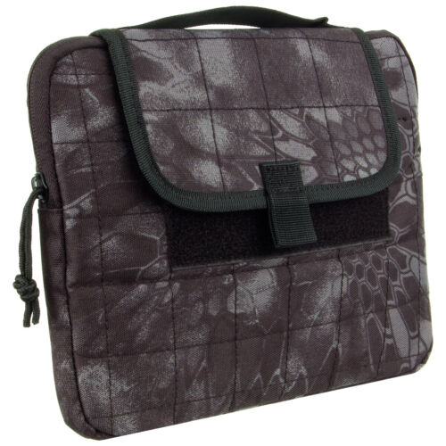 """Mil-Tec MOLLE Tablet Case 12"""" Cover Etui Flap Padded Military Mandra Night Camo"""