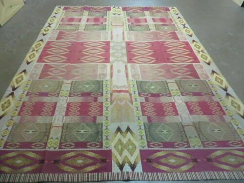 7' X 10' Michaelian & Kohlberg Hand Made Aubusson Design Needlepoint Rug Rare