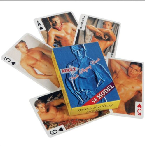 NUDE MALE PLAYING CARDS 54 GOOD LOOKING GUYS TO A DECK FREE SHIPPING!