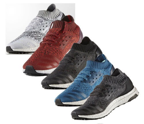 Mens ADIDAS Ultra Boost Uncaged Running Shoes Mens Sneakers Knit UltraBoost NEW