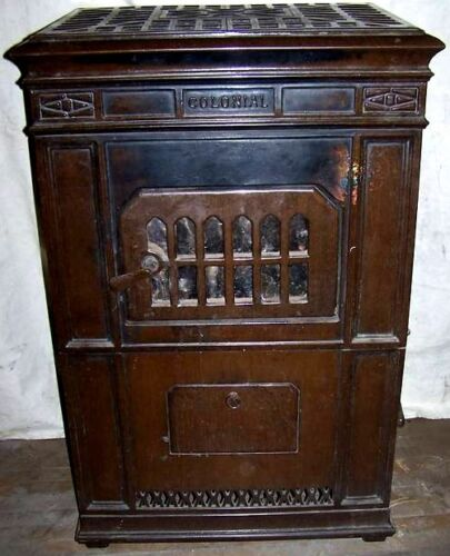 Kalamazoo Colonial Coal Stove Walnut Colored