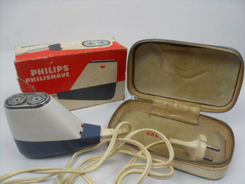 PHILIPS Rasoio Vintage Type SC 7920F Made in France Anni '60 '70 PHILISHAVE