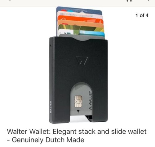 Walter Wallet Card holder. Colors: White Only