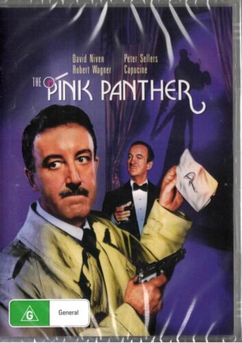 The Pink Panther -  Peter Sellers -New and Sealed DVD - Region 4