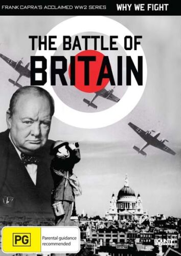 WHY WE FIGHT BATTLE OF BRITAIN DVD NEW AND SEALED