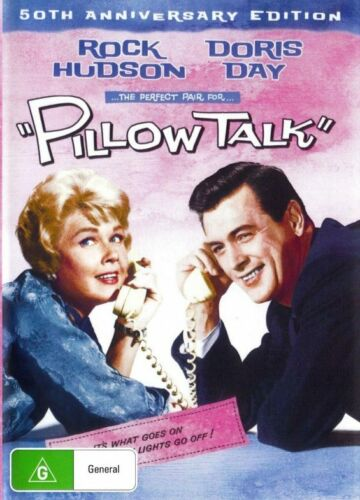 Pillow Talk - Doris Day  ( 50th Anniversary Edition ) - New Region All DVD