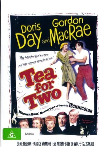 Tea for Two ( Doris Day ) - New Region All DVD