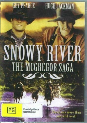 Snowy River - The McGregor Saga - New and Sealed DVD
