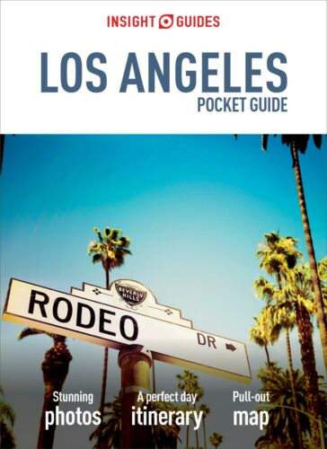 Insight Guides Los Angeles Pocket Guide *FREE SHIPPING - INEW*