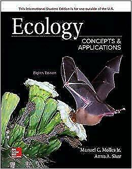 Ecology: Concepts and Applications 8E by Manuel Molles ISBN:9781260085150