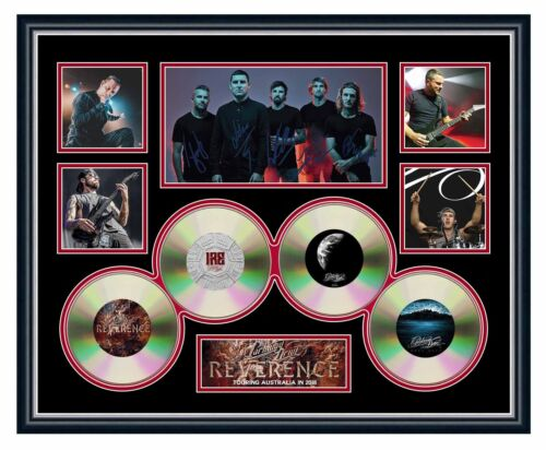 PARKWAY DRIVE REVERENCE 2018 TOUR SIGNED LIMITED EDITION FRAMED MEMORABILIA