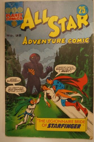 CLASSIC PLANET COMIC BOOK - All Star Adventure Comic - Classic Titles