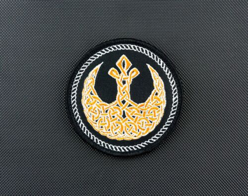 Rebel Alliance Celtic Morale Patch Star Wars Rogue One JYN ERSO BhodiNavy - 66533