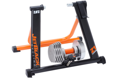 JetBlack - Z1 PRO - FLUID Hydrogel indoor Bicycle bike Trainer - inc. APP