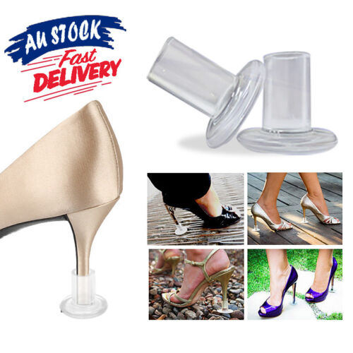 4/12 pcs High Heel High Cover Stop Heels Sinking Stiletto Protectors Stopper