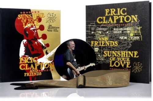 ERIC CLAPTON DELUXE Sunshine Of Your Love SIGNED Genesis Cream Derek Beatles  <br/> SOLD OUT, STILL SEALED DELUXE EDITION, 350 COPIES