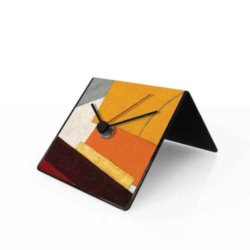 dESIGNoBJECT Table clock perpetual calendar Lissitzky 10x10x10 cm Made in Italy