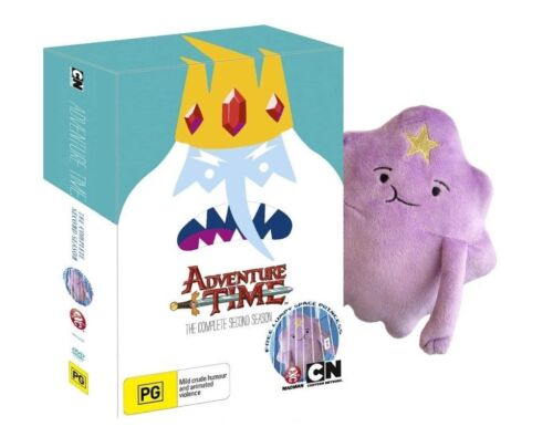 Adventure Time Season 2 with Plush | New PAL Region R4