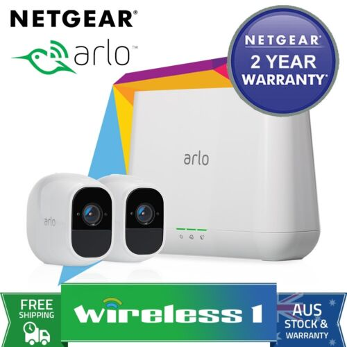 All NEW Arlo Pro 2 Wire-Free HD Camera 2 Security System VMS4230P