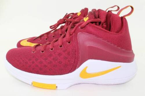 NIKE ZOOM WITNESS YOUTH SIZE 4.5 SAME AS WOMAN 6.0 NEW RARE BASKETBALL TEAM RED