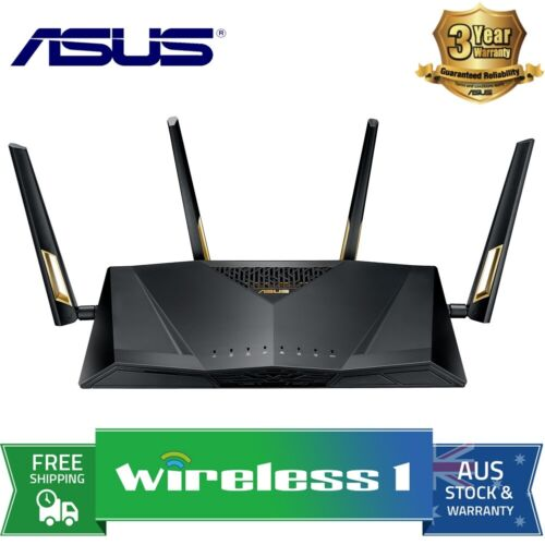 ASUS RT-AX88U AX6000 Dual Band 802.11ax WIFI 6 Router with MU-MIMO - NBN Ready