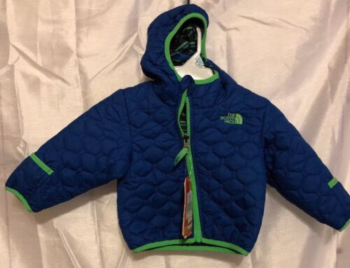 Authentic The North Face Baby Boy's Perrito Reversible Jacket