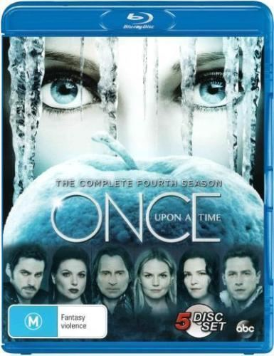 Once Upon A Time Season 4 Blu Ray Brand new & sealed